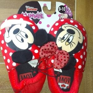 Other - New Little Girls Mickey & Minnie Mouse House Slipp